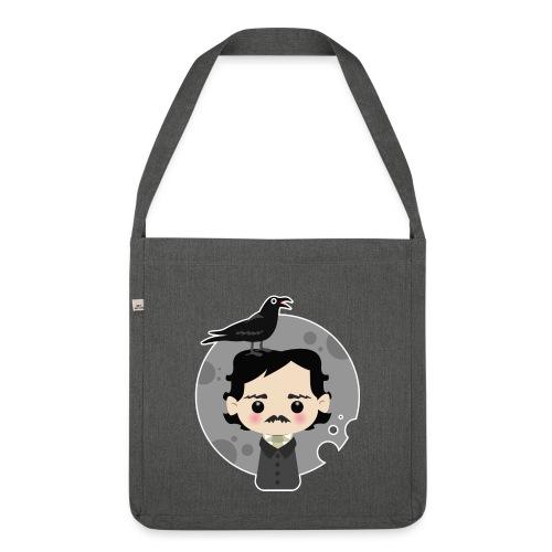 Edgar Allan Poe - Borsa in materiale riciclato