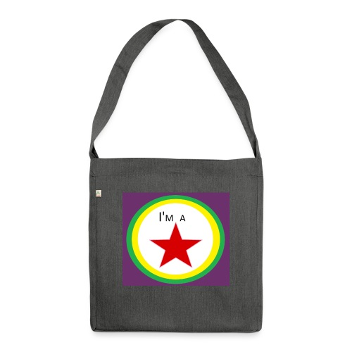 I'm a STAR! - Shoulder Bag made from recycled material