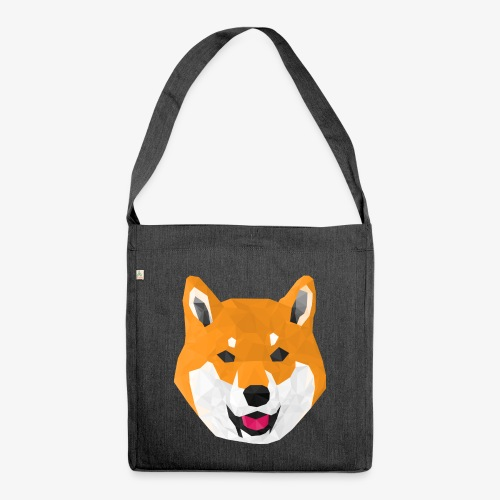 Shiba Dog - Shoulder Bag made from recycled material