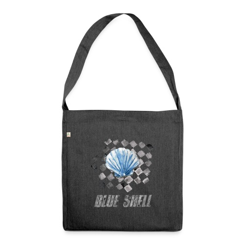 BLUE SHELL WINTER EDITION - Schultertasche aus Recycling-Material