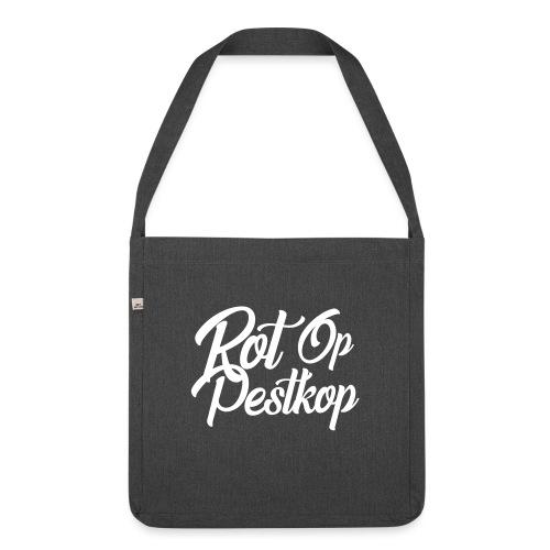 Rot Op Pestkop - Curly White - Schoudertas van gerecycled materiaal