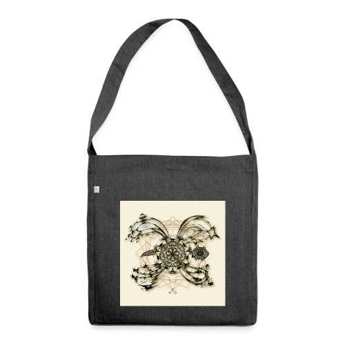 Tortuga 160220 ds. A + - Shoulder Bag made from recycled material