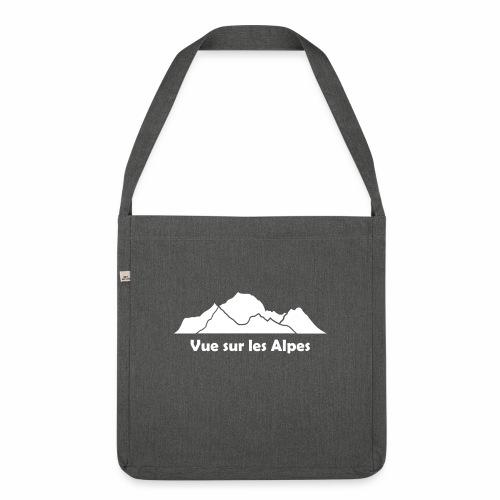 Vue sur les Alpes - Sac bandoulière 100 % recyclé