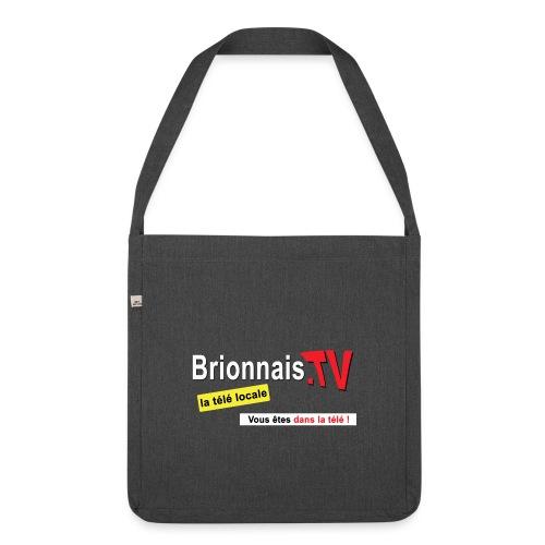 BTV logo shirt dos - Sac bandoulière 100 % recyclé