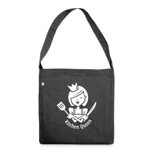 VL126_KitchenQueen_1c_inv - Schultertasche aus Recycling-Material