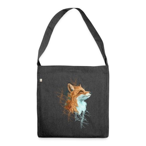 Happy the Fox - Schultertasche aus Recycling-Material
