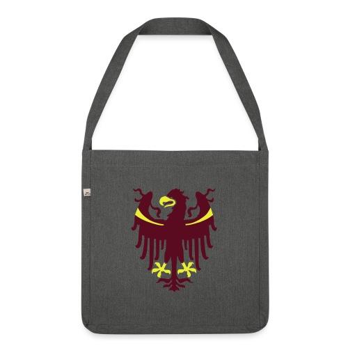 Wappen des Landes Südtirol - Schultertasche aus Recycling-Material