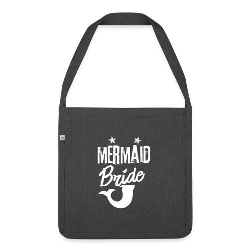 Meerjungenfrau Braut - Schultertasche aus Recycling-Material