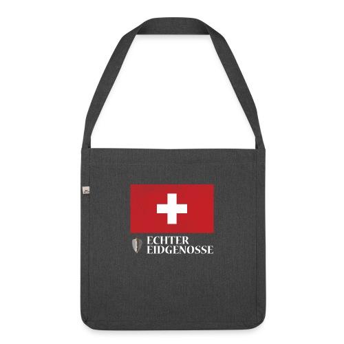Echter Eidgenosse Schweiz - Schultertasche aus Recycling-Material