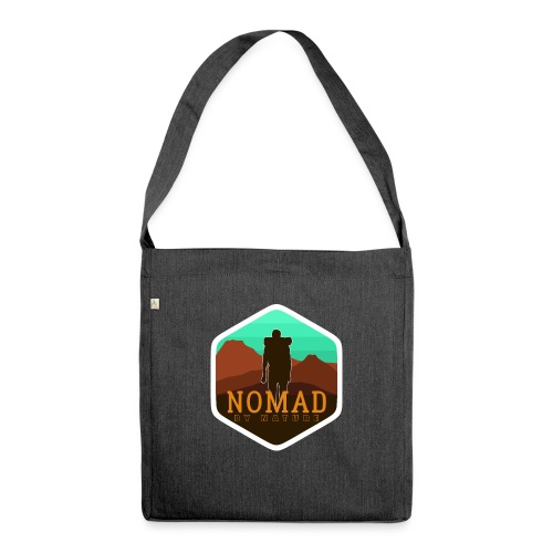 Nomad By Nature - Schultertasche aus Recycling-Material