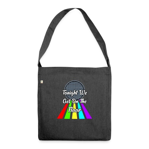 Dance Party - Schultertasche aus Recycling-Material