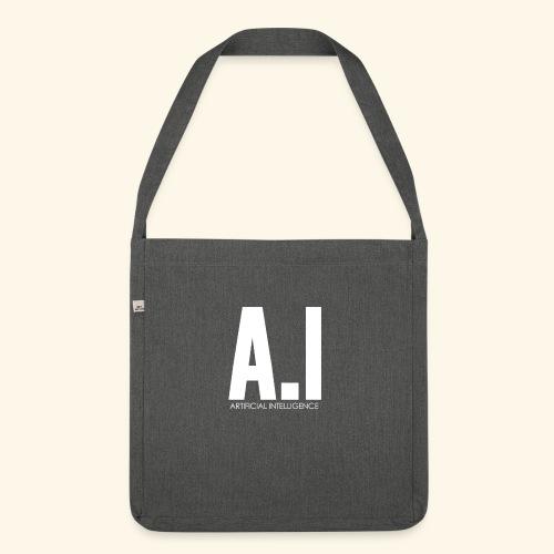 AI Artificial Intelligence Machine Learning - Borsa in materiale riciclato