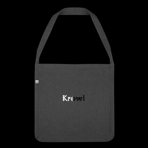 Krowl 1st Yin & Yang Design - Sac bandoulière 100 % recyclé