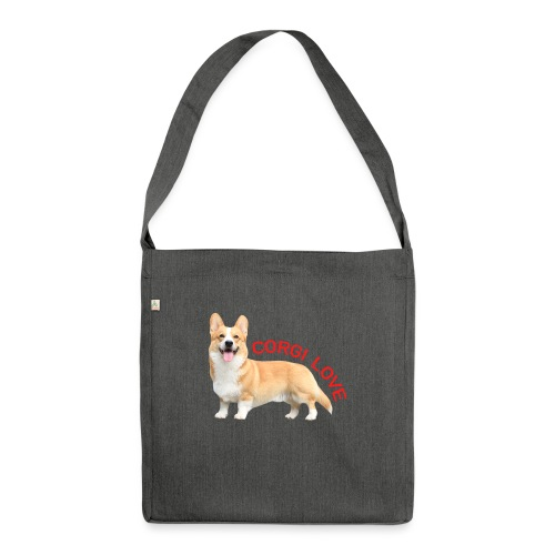 CorgiLove - Shoulder Bag made from recycled material