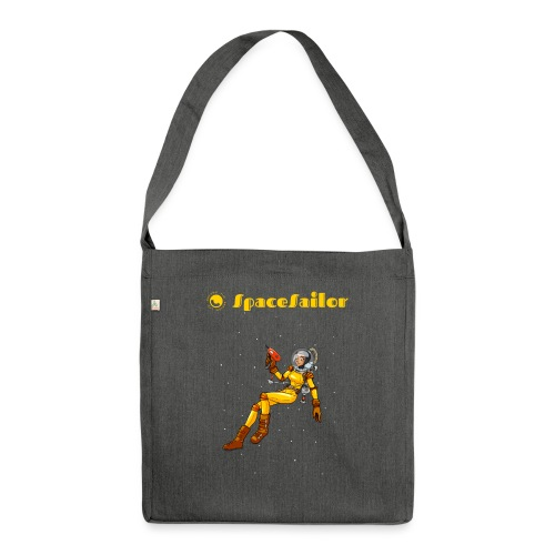 SpaceSailor - Shoulder Bag made from recycled material