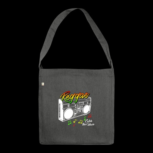 Reggae - Catch the Wave - Schultertasche aus Recycling-Material