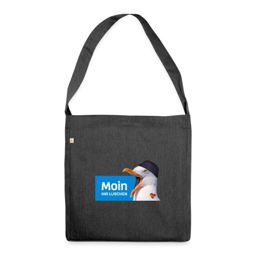 Moin ihr Luschen! - Schultertasche aus Recycling-Material