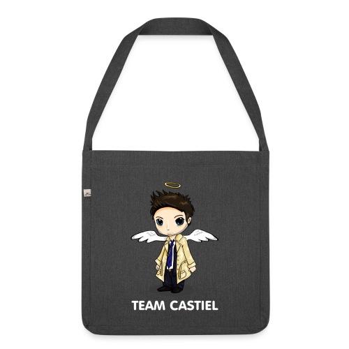 Team Castiel (dark) - Shoulder Bag made from recycled material