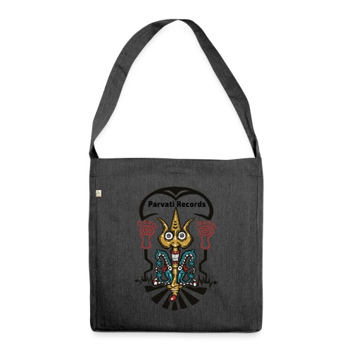 Parvati Records Trishula by Monica Garone - Shoulder Bag made from recycled material