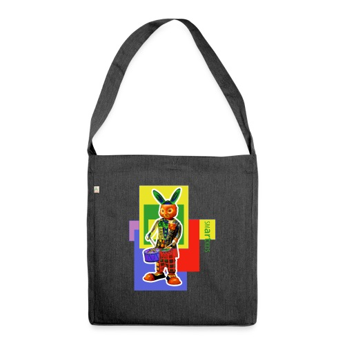 smARTkids - Slammin' Rabbit - Shoulder Bag made from recycled material
