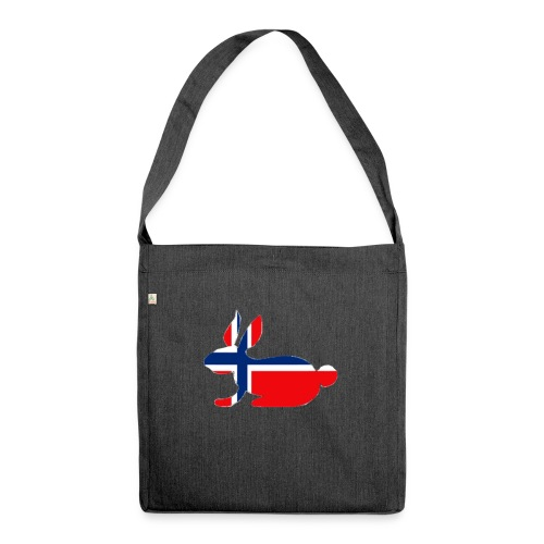 norwegian bunny - Shoulder Bag made from recycled material
