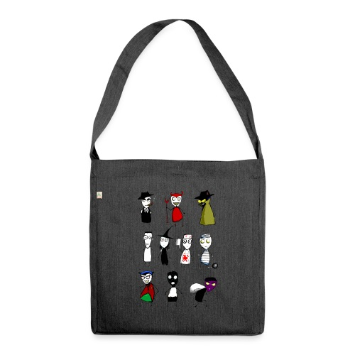 Bad to the bone - Shoulder Bag made from recycled material