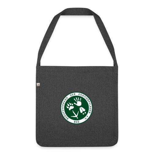 BdZ Logo - Schultertasche aus Recycling-Material