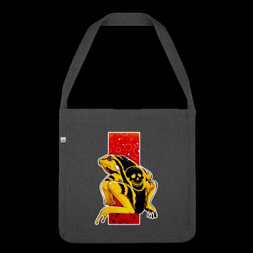 Death Frog - Torba na ramię z materiału recyklingowego