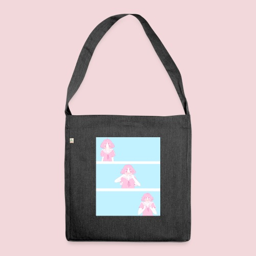 I like you! - Shoulder Bag made from recycled material