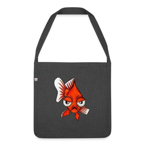 Angry Fish - Sac bandoulière 100 % recyclé