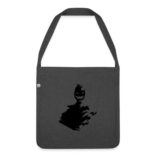t shirt monster (black/schwarz) - Schultertasche aus Recycling-Material