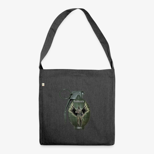 grenadearma3 png - Shoulder Bag made from recycled material