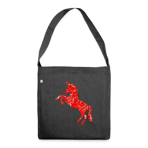 unicorn - Schultertasche aus Recycling-Material