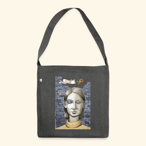 Emanzipation2020 - Let's go! - Resonanz - Schultertasche aus Recycling-Material