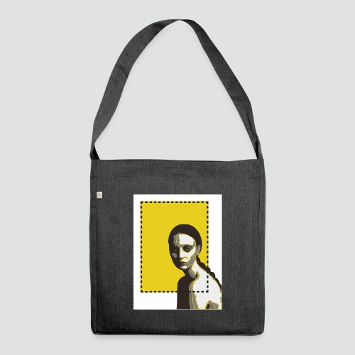 fashion - Schultertasche aus Recycling-Material