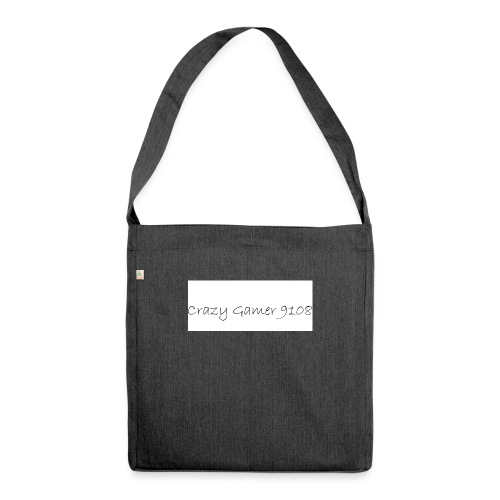 Crazy Gamer 9108 new merch - Shoulder Bag made from recycled material
