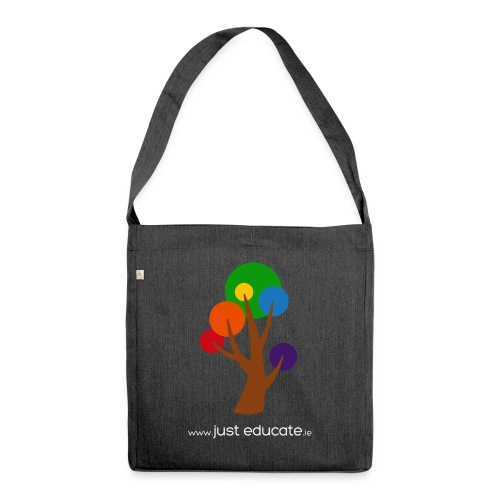 Just Educate.ie - Shoulder Bag made from recycled material