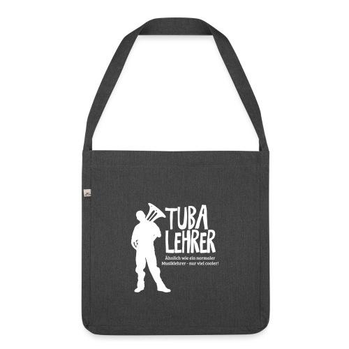 Tuba Lehrer | Tubist - Schultertasche aus Recycling-Material