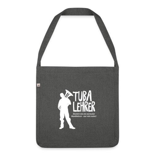 Tuba Lehrer   Tubist - Schultertasche aus Recycling-Material
