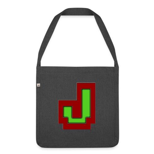 Stilrent_J - Skuldertaske af recycling-material