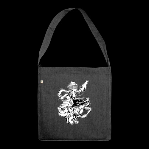 The Real HipHop Elements - Schultertasche aus Recycling-Material