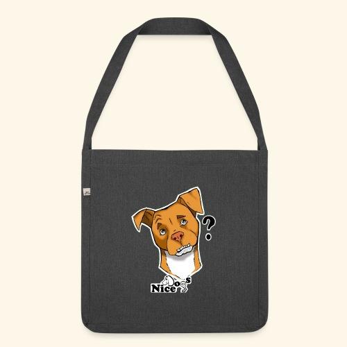 Nice Dogs pitbull 2 - Borsa in materiale riciclato