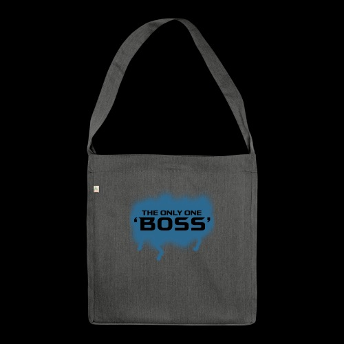 the only one BOSS - Schultertasche aus Recycling-Material