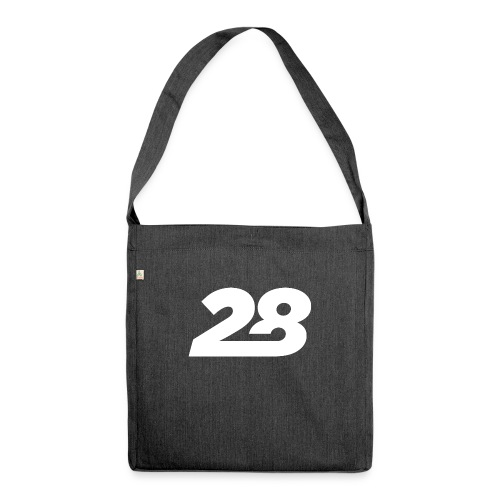 28 White - Shoulder Bag made from recycled material