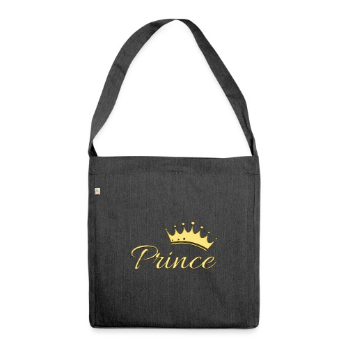 Prince Or -by- T-shirt chic et choc - Sac bandoulière 100 % recyclé