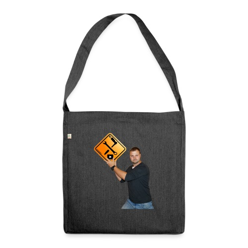 M1Molter mit Logo - Schultertasche aus Recycling-Material
