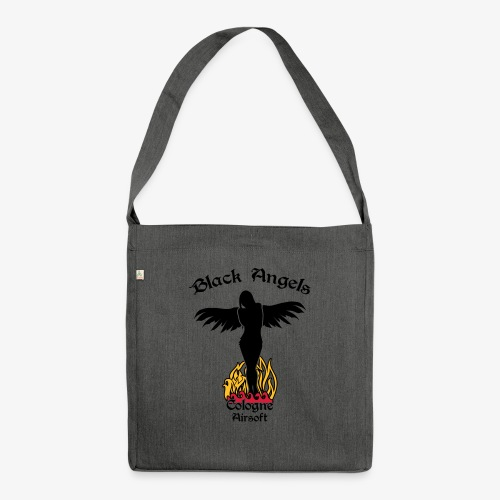 BAM_Angel_Single_CGN - Schultertasche aus Recycling-Material