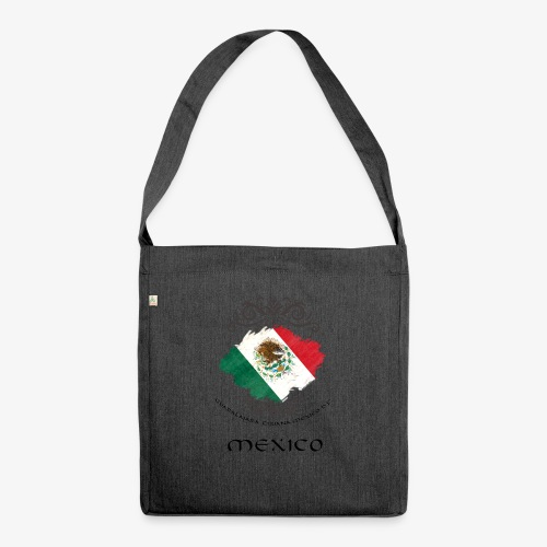 Mexico Vintage Bandera - Schultertasche aus Recycling-Material