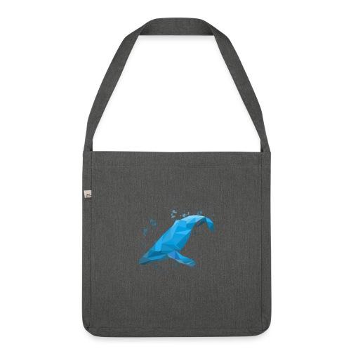 Wal Buckelwal Blauwal Naturschutz - Schultertasche aus Recycling-Material