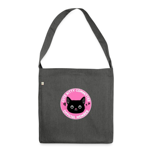 Kitty Committee - Shoulder Bag made from recycled material
